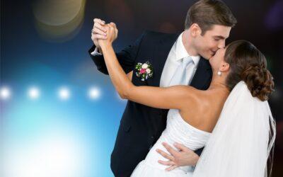 Las 5 mejores canciones para el primer baile de novios.